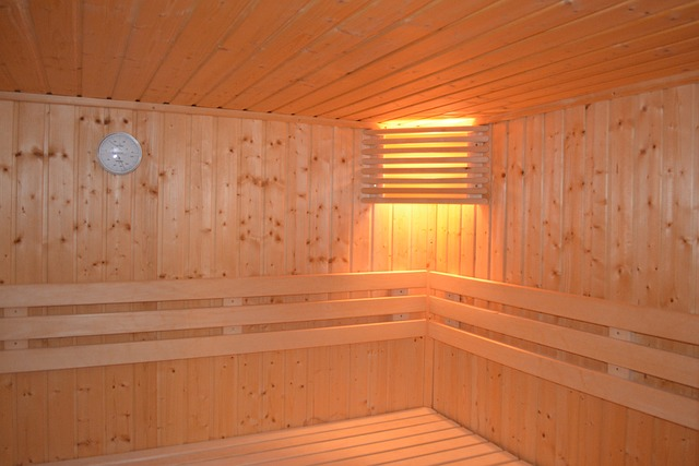 lampa v sauně