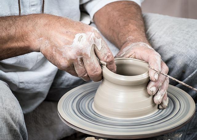 kruh na keramiku