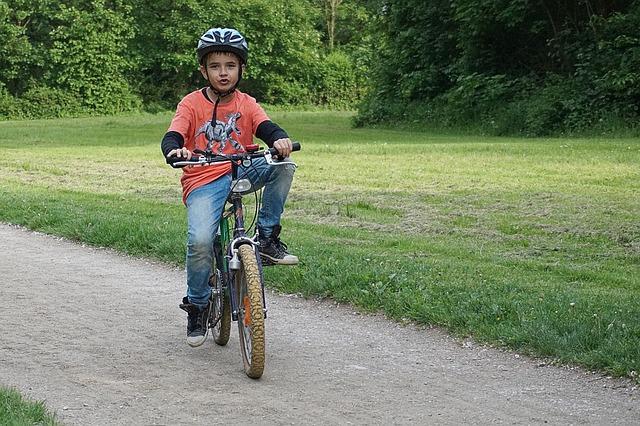 kluk na horském kole