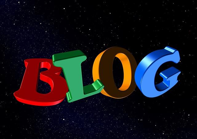 označení blogu
