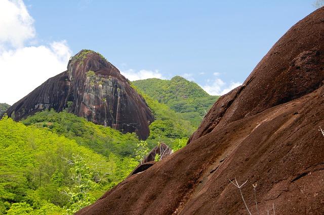 pohoří na Seychelách