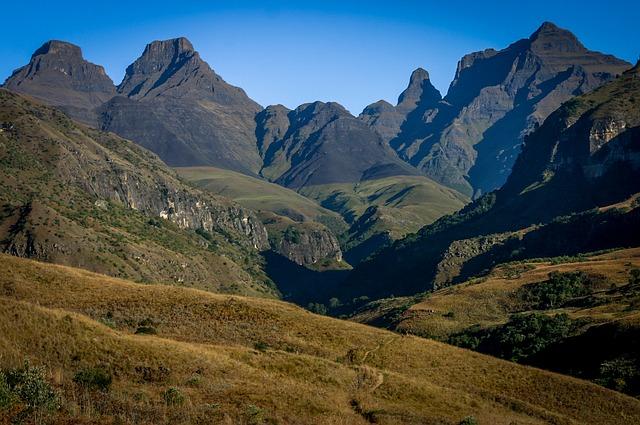 africké hory