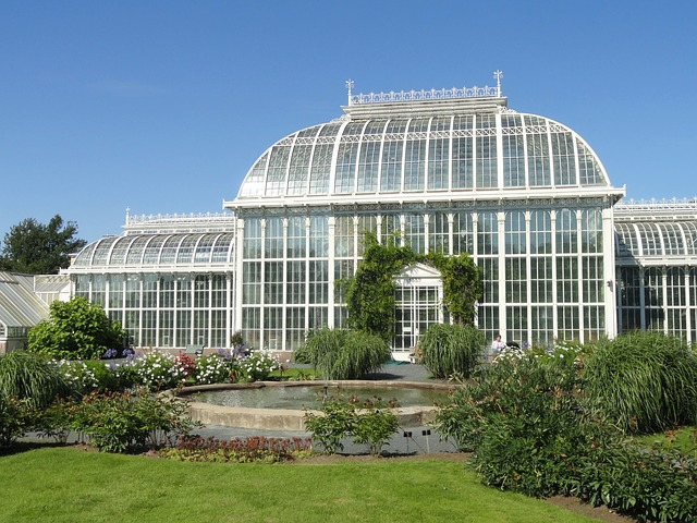 botanická zahrada ve Finsku