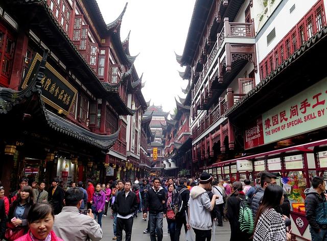 ulice Shangaie