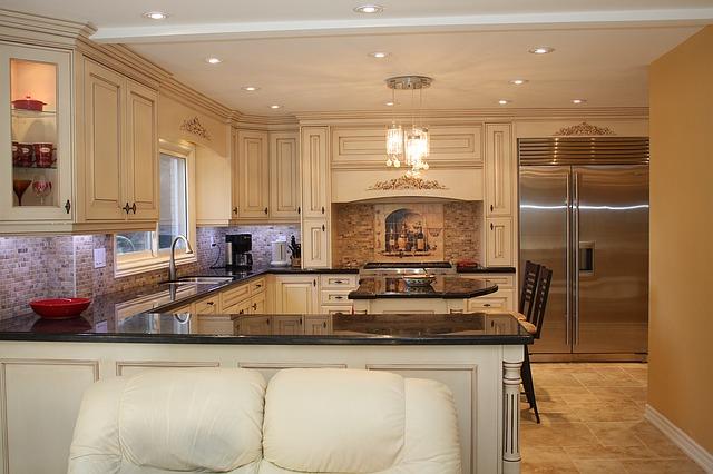 kuchyně v prostoru