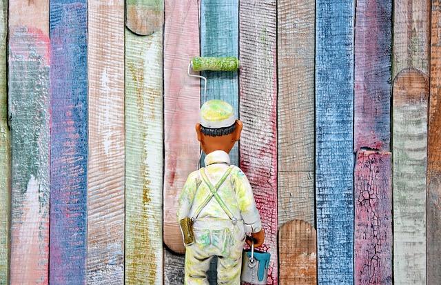 postavička malíře