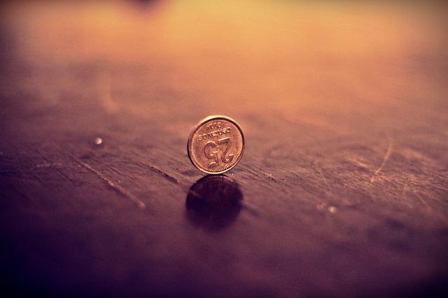 25 centů na stole