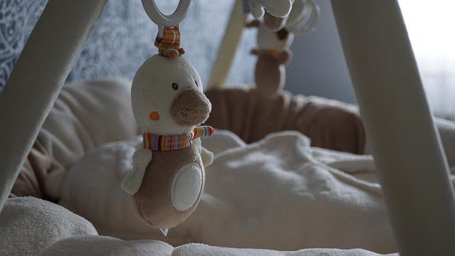 detail z dětského pokojíčku