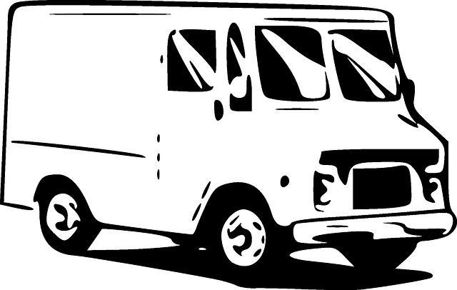 kreslená dodávka